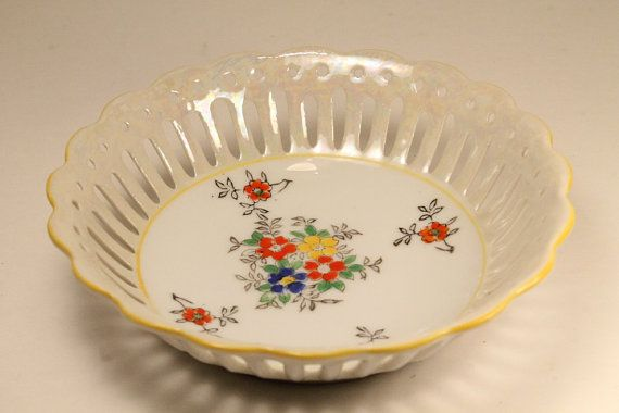 50% OFF SALE:  Candy Dish Trinket Dish Cut by ClockworkRummage