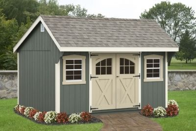 Backyard Shed- the one we are building this spring will be very similar to this!