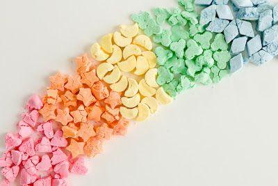 How to Make Homemade Lucky Charms - definitely for someone who has way too much time on their hands.  ;~)