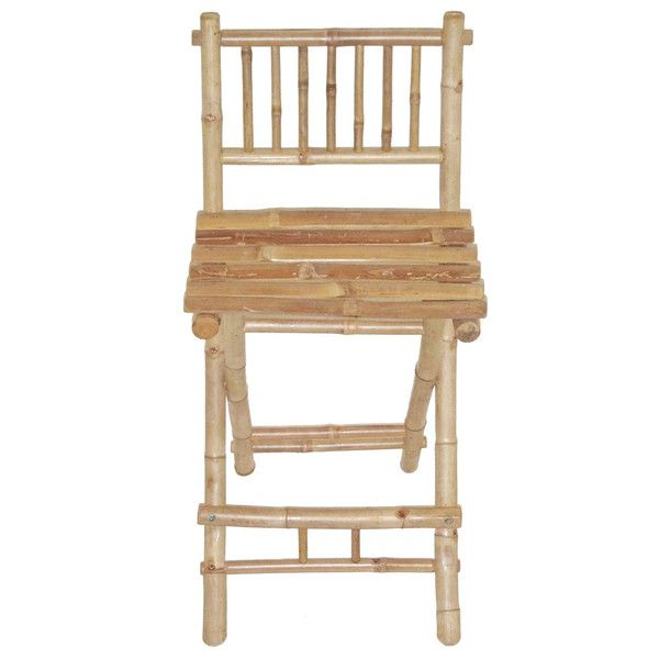 Bamboo54 Bamboo Folding Bar Stool (Set Of 2) - Home Bars USA - 1