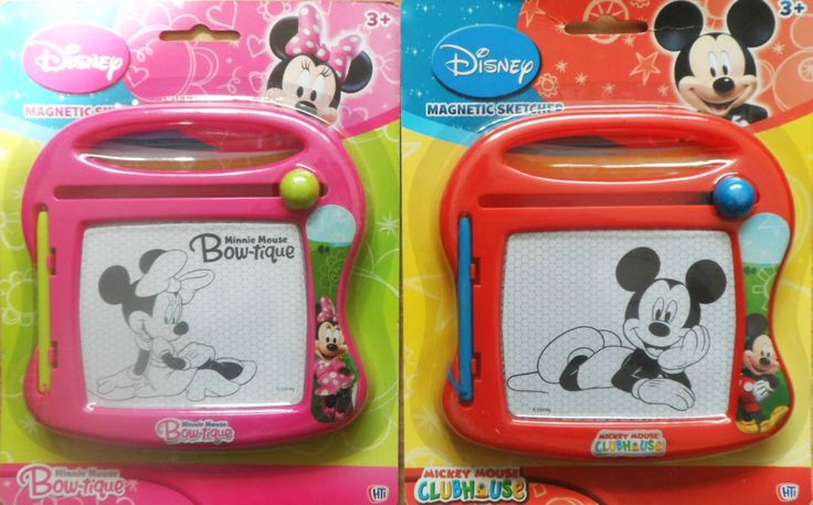 DISNEY JUNIOR MINNIE BOWTIQUE MICKEY MOUSE CLUBHOUSE MAGNETIC SKETCHER SCRIBLER in Toys & Games, TV & Film Character Toys, Film & Disney Characters | eBay