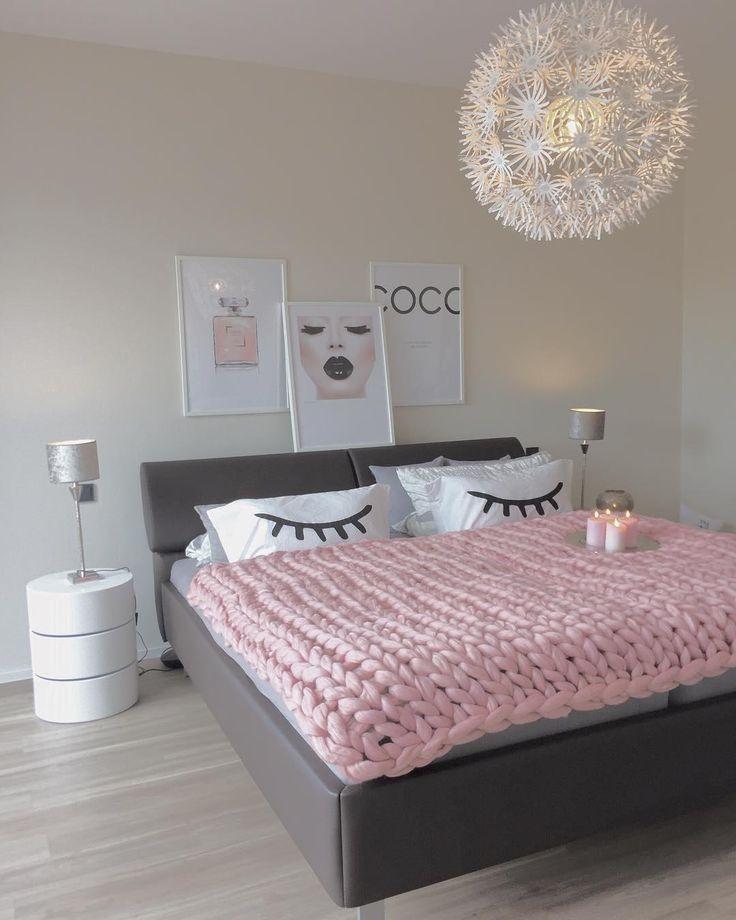 Die besten 25+ Rosa schlafzimmer Ideen auf Pinterest | Rosa ...