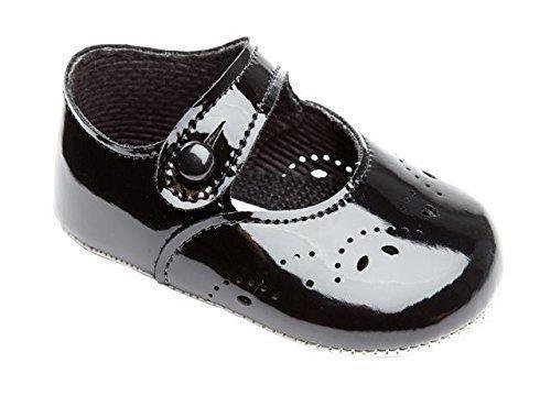 Oferta: 12.19€. Comprar Ofertas de Earlydays Baypods - Zapatos primeros pasos para niña negro negro (black patent) barato. ¡Mira las ofertas!