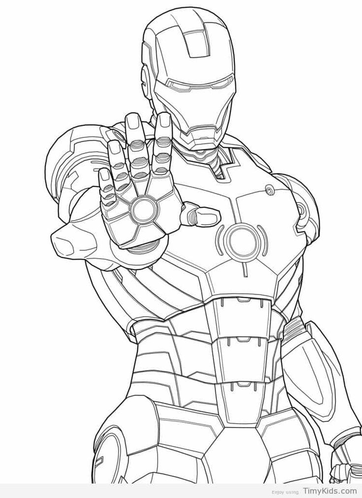 iron man pictures to color   Superhero coloring pages ...