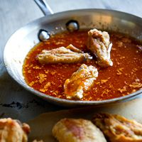 How to Cook Crispy Chicken Wings : Fried, Baked, Pre-Boil