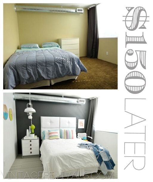150 Before and After Room Makeover from Vintage Revivials. 17 Best ideas about Room Makeovers on Pinterest   Craft rooms
