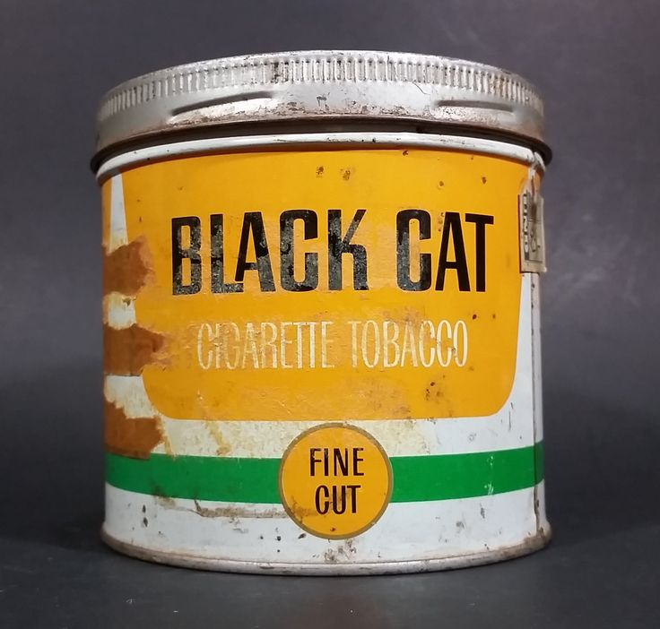 Vintage Black Cat Fine Cut Cigarette Tobacco Tin with Lid https://treasurevalleyantiques.com/products/vintage-black-fine-cut-cigarette-tobacco-tin-with-lid Vintage #BlackCat #Black #Cat #Cigarettes #Tobacco #Smoking #Smoke #FineCut #VintageTins #Tins #Canisters #Cans #Collectibles #ManCave #SheShed #Garage #Decor #BuyNow #Decorative #TheCave #OrderNow