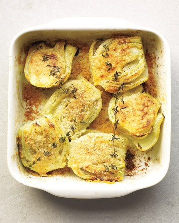 Baked Fennel with Parmesan & Thyme
