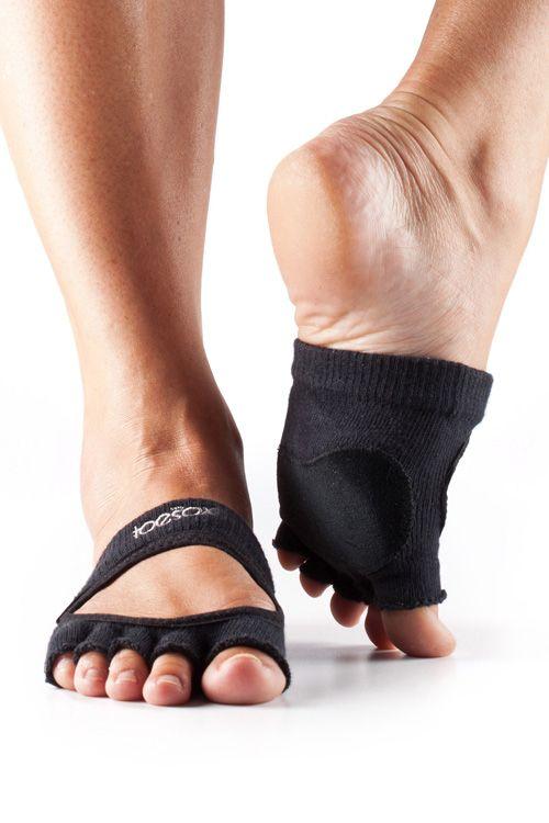 Sock Dreams - Half Toe Releve Half Socks. Perfect for Yoga