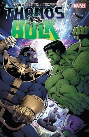 Thanos vs. Hulk by Jim Starlin.