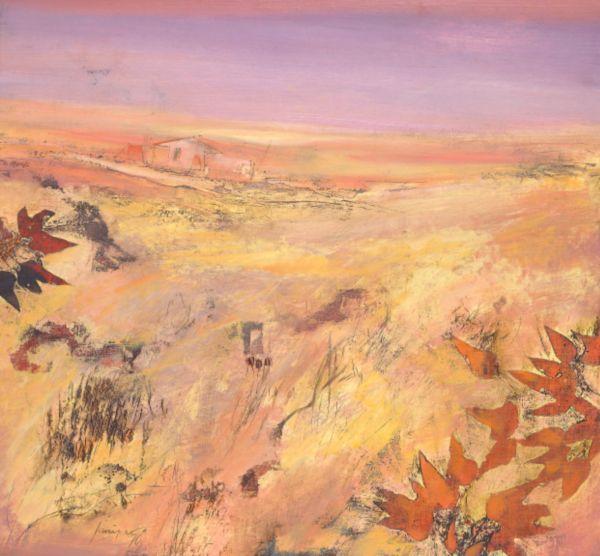 Robert Juniper - Landscape with Homestead