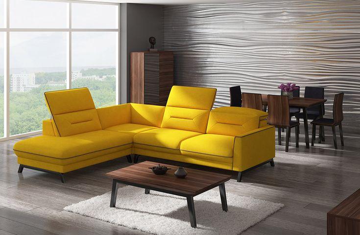 Narożnik z lat 60-tych w nowoczesnym wydaniu! :) #furniture #meble #60'