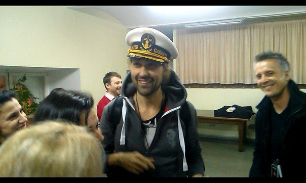 David Garrett!! My handsome captain