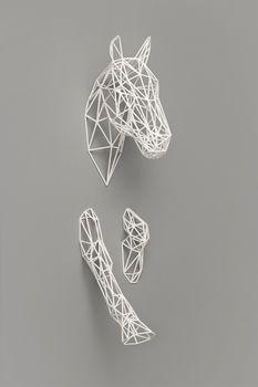 equus horse sculpture by spotted | notonthehighstreet.com