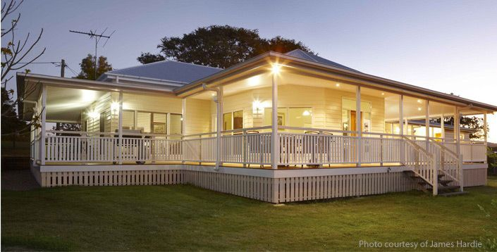 Queenslander house queenslander house plans queenslander for Modern kit home designs