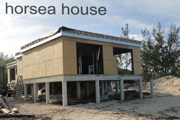 horsea buildings steel structure villa frame