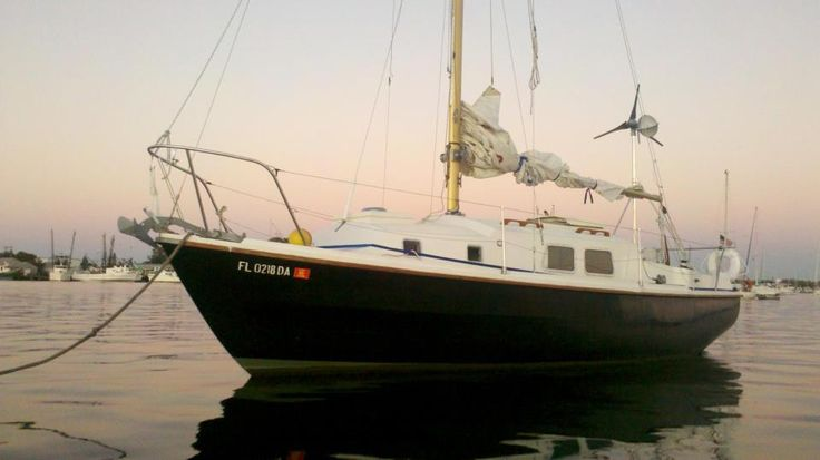 Morris: our old Westerly Centaur 26. Miss this boat.