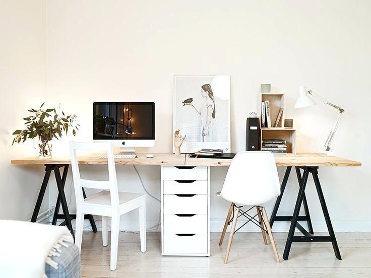 Two Person Desk Ikea Two Person Computer Desk Best Ideas On Two Person Desk Ikea Hack Home Office Decor Home Office Design Home Office Desks