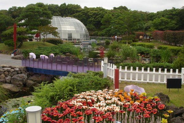 Jeju Glass Castle Theme Park, JeJu-Si South Korea