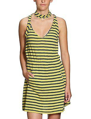 X-Small, Green - Green Tea, Quiksilver Twist Womens Mini Dress NEW