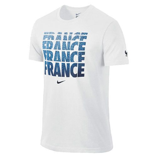 Nike France Core Type T-Shirt - White