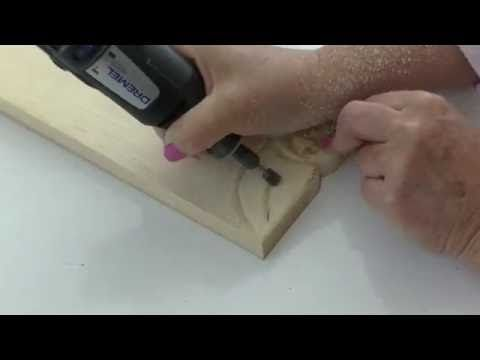 How To Carve a Rose (simple method of carving) - YouTube