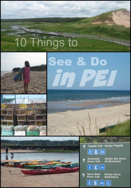 10 Things to See and Do on a vacation to Prince Edward Island, Canada.