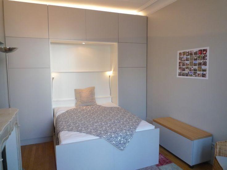 les 25 meilleures id es de la cat gorie lit rabattable sur pinterest lit en bois pliant lit. Black Bedroom Furniture Sets. Home Design Ideas