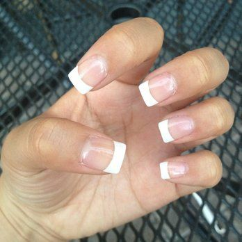Acrylic French tip! | Yelp