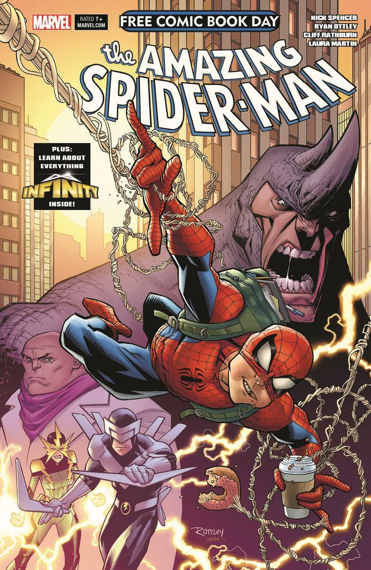 Marvel Releases Cover for Amazing Spider-Man's Free Comic Book Day 2018 Issue – Spider Man Crawlspace