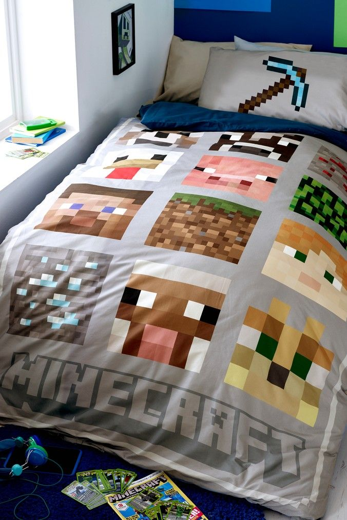 Brick Game 04 Minecraft Creeper Pillow case