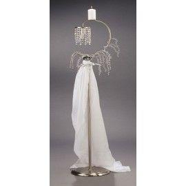 Λαμπάδα Γάμου Φωτιστικό Inox 2240-1F