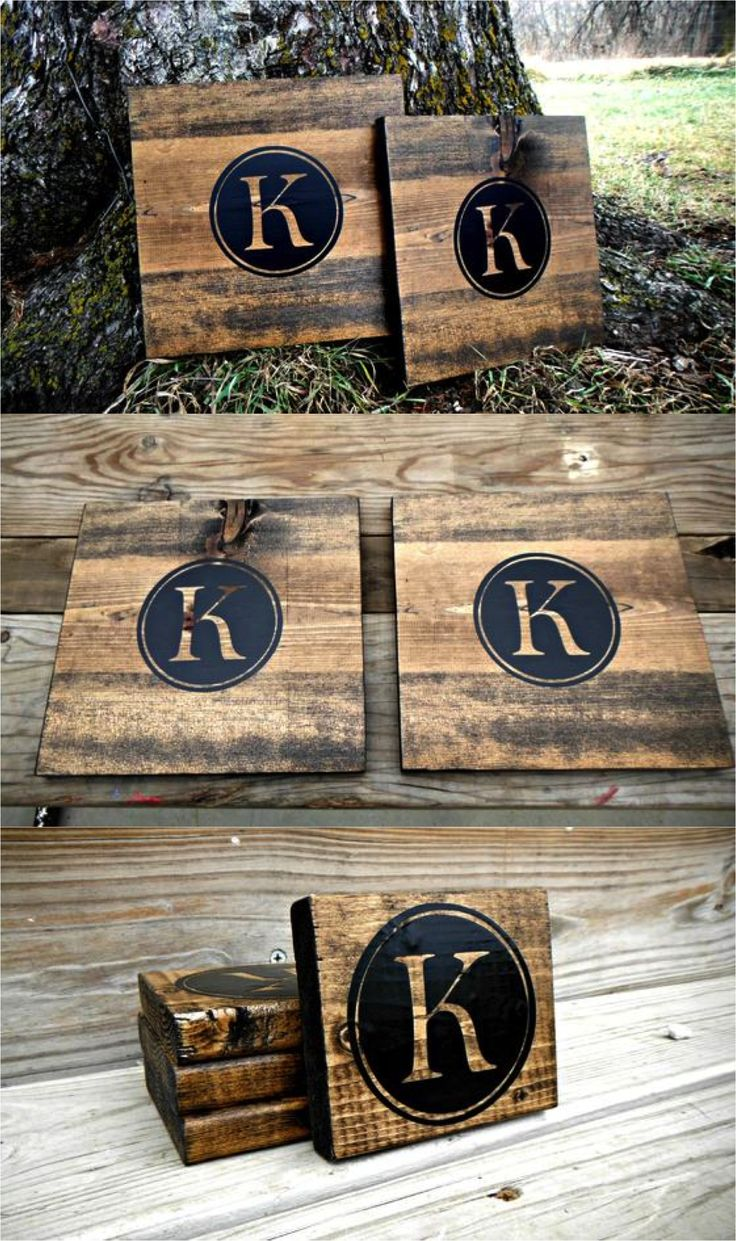 Rustic chic coasters and placemats are beautiful for every day and special occasions alike! | Made on Hatch.co