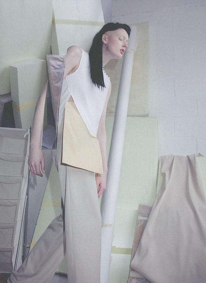 Sadie Pinn by Charlie Engman for Hunter, S/S 2013