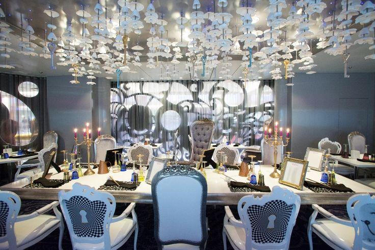 Wonderland Restaurant- Quantum of the Seas