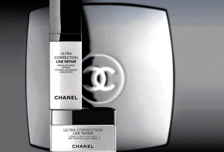 Chanel Ultra Correction Line Repair Serum Intensive Concentrate and Night Cream #CHANEL