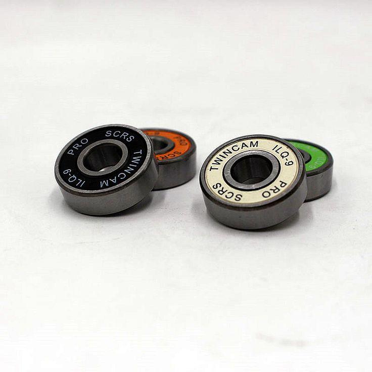 Large discounts 2PCS bearing steel material 608ILQ-9 bearing professional skateboard bearings skate shoes bearings