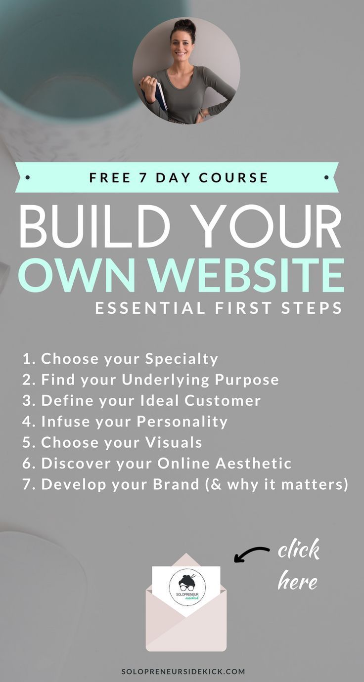 best ideas about build your own website own 7 day email course build your own website essential first steps