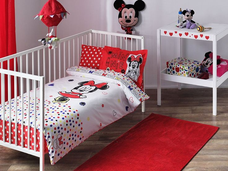 Disney Minnie Baby Duvet Cover Set Licenced Product //Price: $24.01 & FREE Shipping //     #bedding