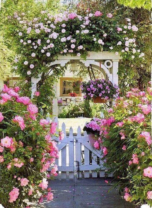 "Lovely and Charming way to say,  ""Hey! Come on in ! """
