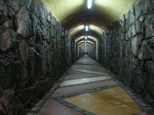 Túnel Ascensor Polanco | Ascensores de Valparaíso