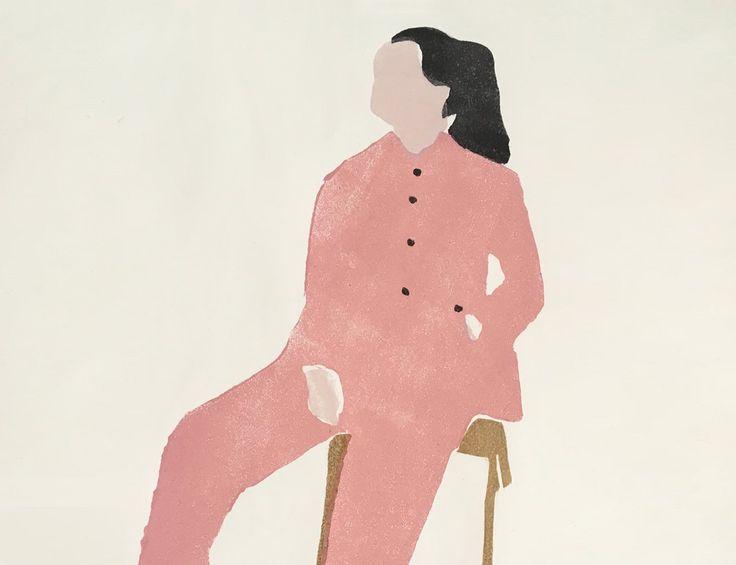 Modern Fashion Paintings / Illustration by Renée Gouin