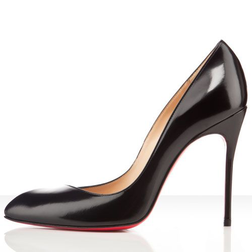 Christian Louboutin Corneille Leather Pumps 100mm Leather Black