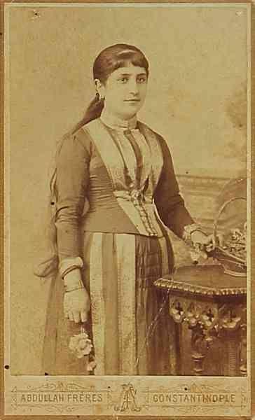 Sıvas 1880 Ermeni kadın