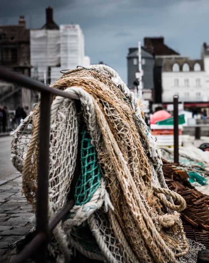 Filets de #pêche sur le port de #Honfleur...  #explore #sea #boat #adventure #fish #fishing #harbor #Normandy #Normandie #France