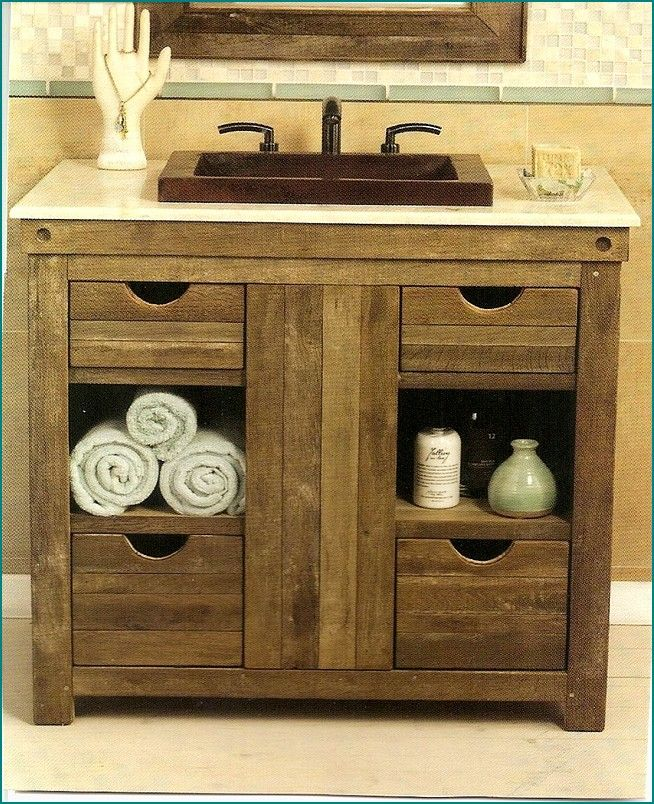 Rustic Bathroom With White Shiplap: 1000+ Ideas About Rustic Bathroom Vanities On Pinterest
