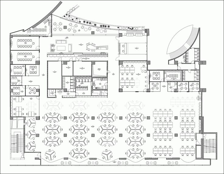 19 best plans images on pinterest floor plans hospital for Office design archdaily