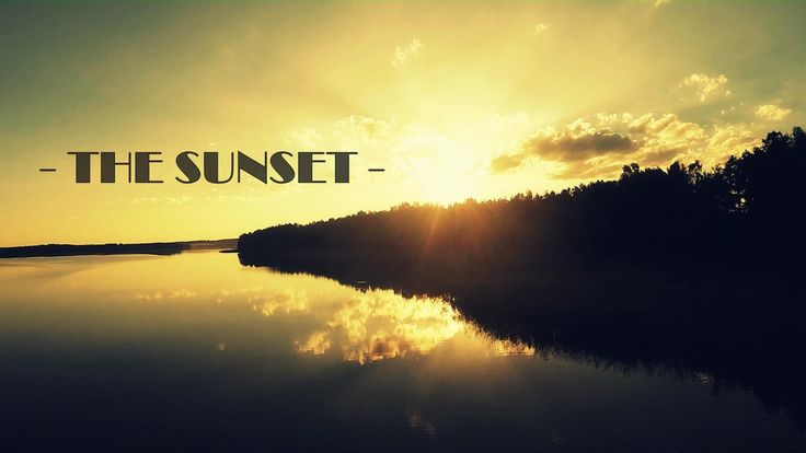 Introducing The Sunset - aerial movie made last summer. Masurian Lake District is really awesome place - check it!