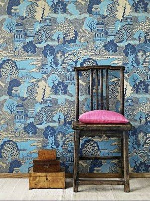 Summer Palace from Osborne & Little available at walnut wallpaper #wallpaper