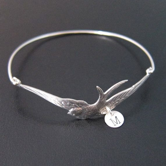 Gold Mothers bracelet - L is for Liam - love